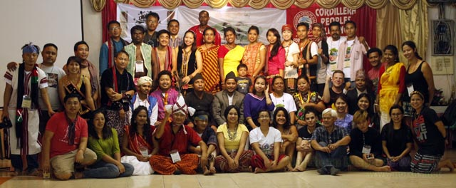 Participants to the 3rd International Indigenous Youth Conference during the opening program. Photo courtesy of IIYC
